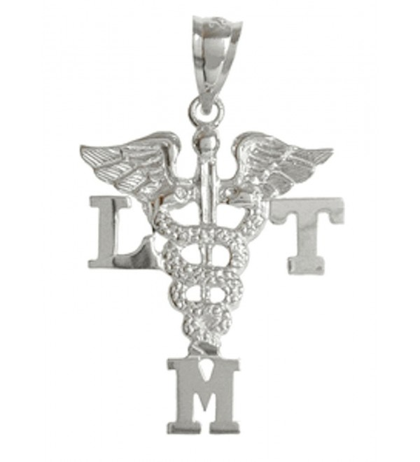 NursingPin - Licensed Massage Therapist LMT Charm - Jewelry and Gifts in Silver - CN1173YVR1T