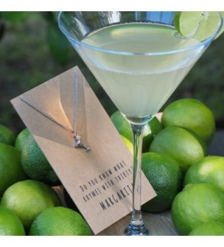 Quan Jewelry Birthday Margarita Necklace in Women's Pendants