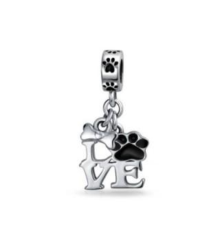 Bling Jewelry Enamel Dangle Silver in Women's Charms & Charm Bracelets