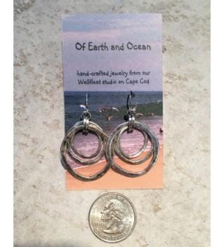 Handmade Moonlight Goddess Earrings EARTH in Women's Drop & Dangle Earrings
