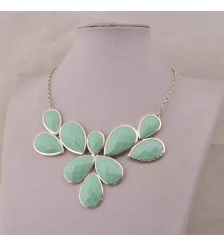 Jane Stone Statement Necklace Fn0835 S Mint