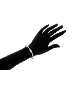 NYC Sterling Zirconia Graduated Bracelet in Women's Tennis Bracelets