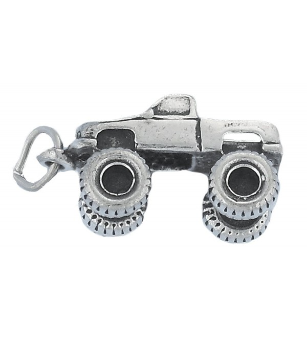 Corinna-Maria 925 Sterling Silver Monster Truck Charm - CN11PNKG2KB