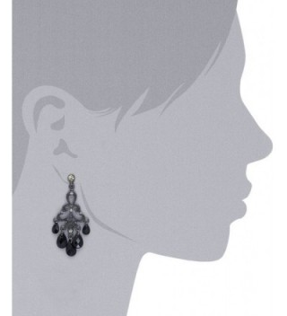1928 Jewelry Crystal Chandelier Earrings