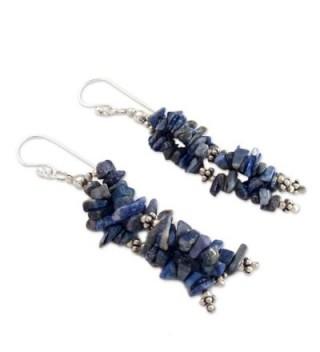 NOVICA Sterling Waterfall Earrings Rejoice