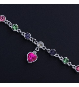 SWAROVSKI Elements Bracelet Beautiful multicolor in Women's Link Bracelets