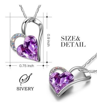 SIVERY Valentines Eternal Necklace Swarovski