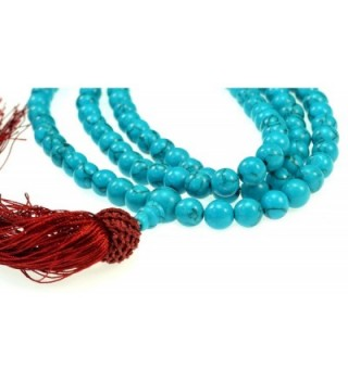 Simulated Turquoise Stone Praying Mala