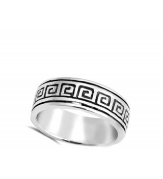Oxidized Wedding Sterling Silver RNG17422 7