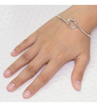 Sterling Silver Endless Openable Bracelet in Women's Bangle Bracelets