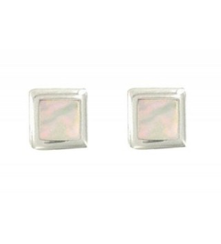 Poulettes Jewels Sterling Silver Mother in Women's Stud Earrings