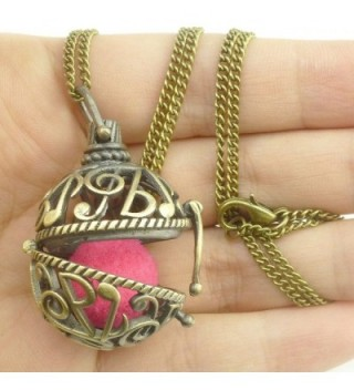 Music Notation Note Locket Necklace