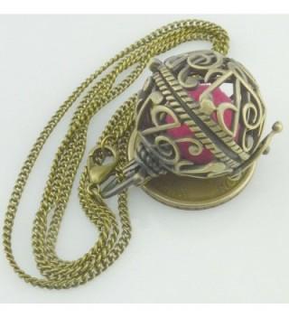 Music Notation Note Locket Necklace in Women's Lockets