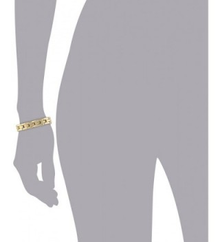 Anne Klein Classics Gold Tone Bracelet