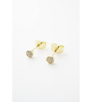HONEYCAT Crystal Earrings Minimalist Delicate