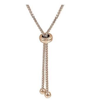 Flashed Sterling Polished Adjustable Bracelet