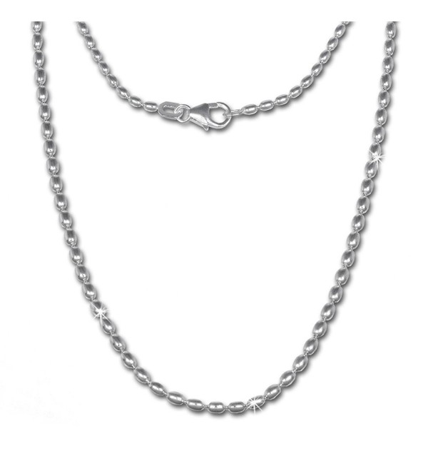 SilberDream olive-chain- Necklace 925 Sterling Silver Women- 27.6 inch (70cm) SDK21370 - C7119YUS7C7