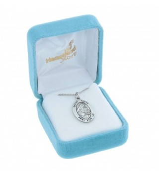 Womens Sterling Silver Pendant Rhodium