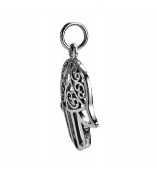 Swirl Passion Sterling Silver Pendant