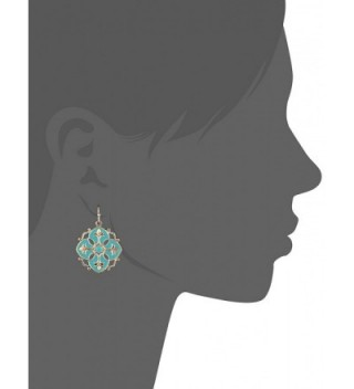 1928 Jewelry Domenica Gold Tone Turquoise