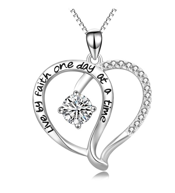 Jewelry Sterling Infinity Necklace Engraved - CX187COTEDA