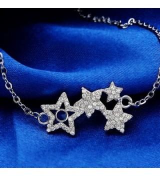 EleQueen Sterling Shining Bracelet Extender