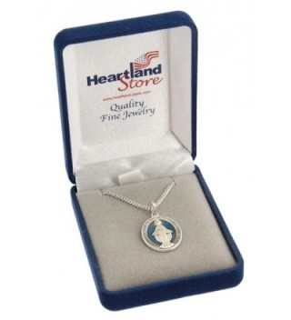 Womens Sterling Silver Miraculous Rhodium in Women's Pendants