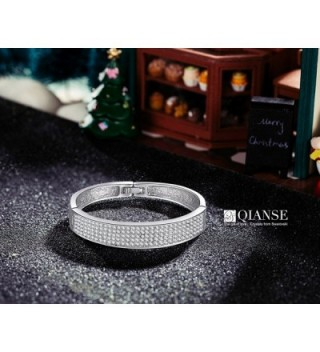 QIANSE Bracelet christmas bracelets anniversary in Women's Bangle Bracelets