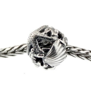 Authentic Trollbeads Sterling Silver 11328 Treasures- Silver - CZ12JBUQT47