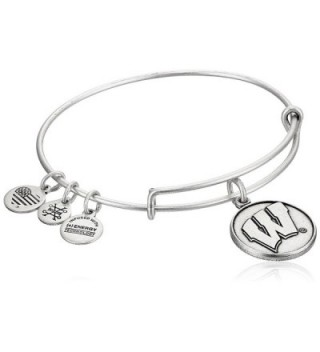 Alex and Ani University of Wisconsin Rafaelian Bangle Bracelet - Rafaelian Silver - CY12ID51LHL