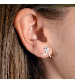 Running Earrings Jewelry Gone Sterling