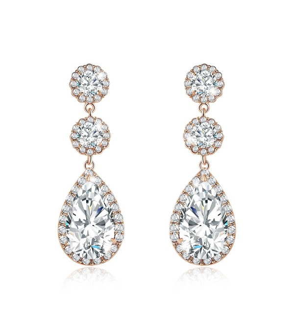 Incaton Earrings Extended Christmas Bridesmaids - Popular Teardrop Earrings - CE185DUZ0GM