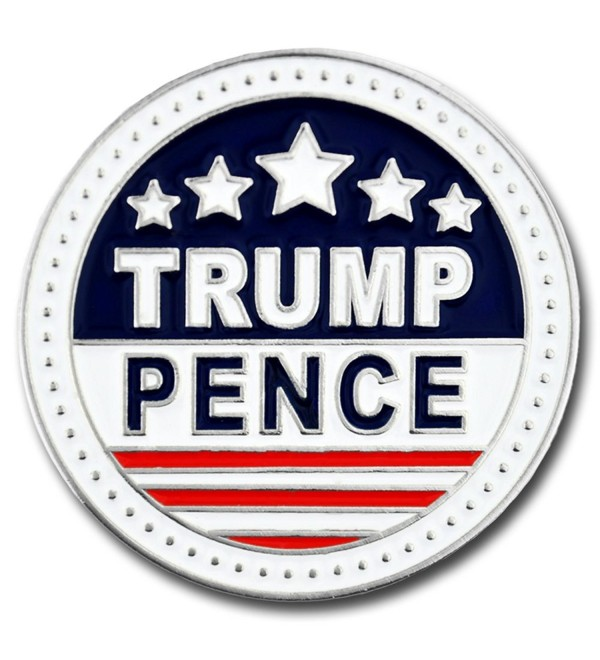 PinMart's President Trump and Vice-President Pence Enamel Lapel Pin - CC12LUTZOY3