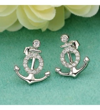 EVER FAITH Sterling Zirconia Nautical