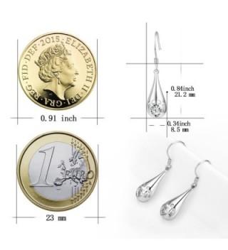 YFN Teardrop Sterling Hollowout Earrings in Women's Drop & Dangle Earrings