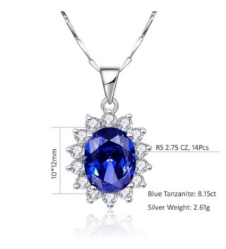 BONLAVIE Princess Tanzanite Sterling Solitaire