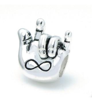 Sterling Forever Infinity European Bracelets