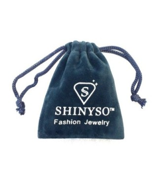 SHINYSO Fashion Jewelry Stainless Sparkle in Women's Band Rings