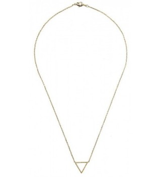 Triangle Necklace SPUNKYsoul Collection Small in Women's Pendants