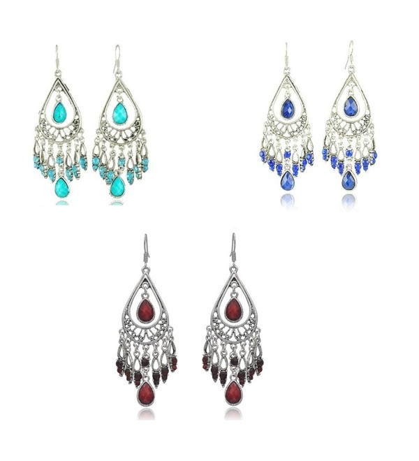 Fashion Chandelier Earrings For Women BoHo Dangle Indian Earrings EAG080 - CP1840WQ79Y