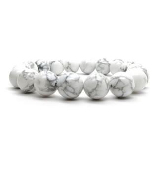Howlite Bracelet 01 Stretch Gemstone