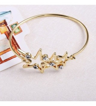RUXIANG Crystal Opening Bracelet Jewelry