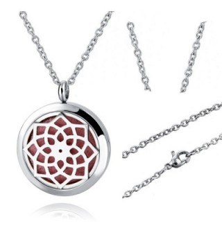 Sunflower Stainless Essential Diffuser Choker in Women's Pendants
