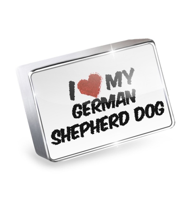 Floating German Shepherd Germany Lockets - I Love my German Shepherd Dog from Germany - CL11Q3V4JWH