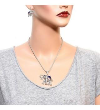 Republican Elephant Necklace Earring Set