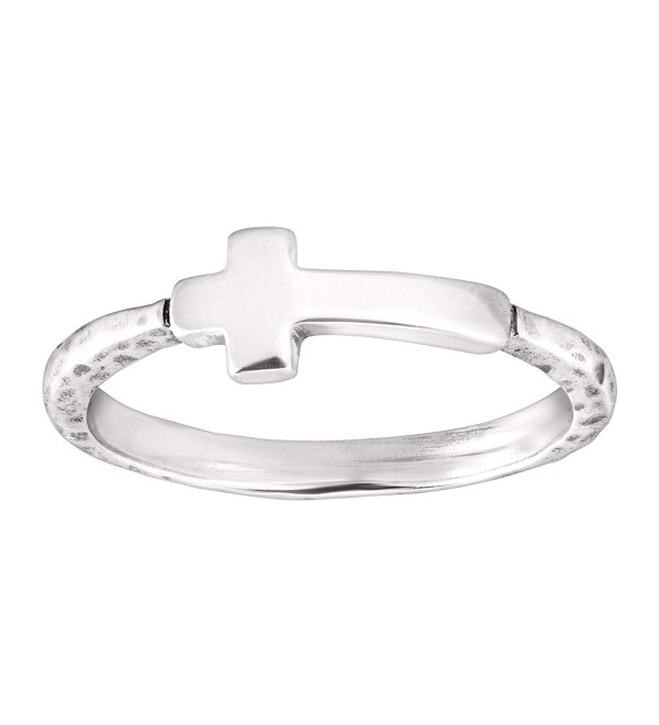 Silpada 'Simplex Cross' Sterling Silver Ring - CI12NGICZI8