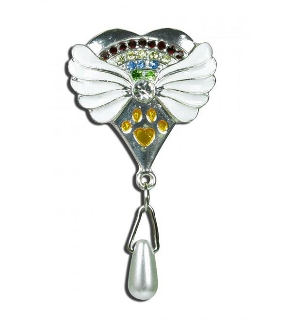 Rainbow Bridge Pet Memorial Pin - Pet Sympathy Gift - CN116OC5A45