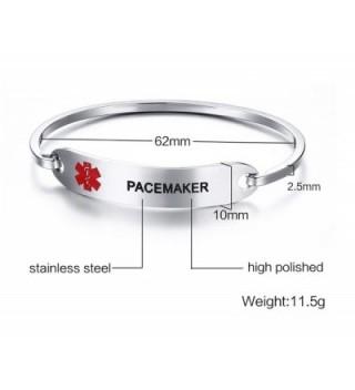 PJ Pacemaker Medical Bracelets Engraving
