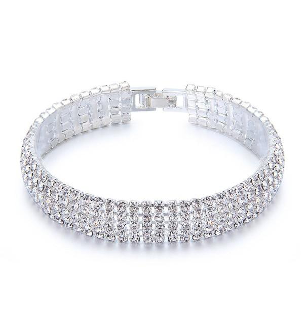 YUXI Rhinestone Bracelet Austrian Bracelets - CO18332WD8I
