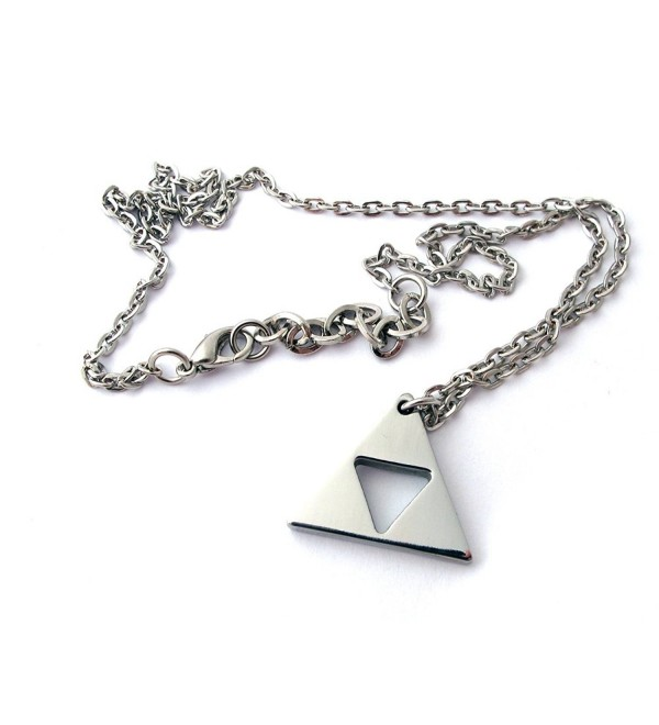 Zelda Triforce Necklace - Stainless Steel - CE11BE4BQU1